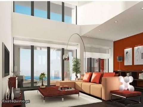 Apartamento T5 Duplex, Novo, Primeira Linha Mar