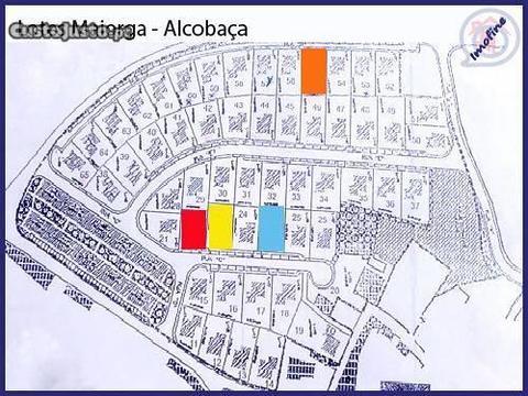 Lotes de terreno em Maiorga, Alcobaça