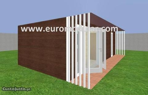 casa de madeira euromodular em28