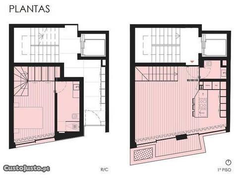 Ref.2602 T1-novo Duplex antigo Hospital Matosinhos